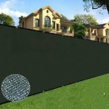 Boen 4 Ft X 50 Ft Black Privacy Fence Screen Netting Mesh With Reinforced Grommet For Chain Link Garden Fence Pn 30062 The Home Depot