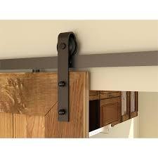 rolltrak matt black barn door side fix