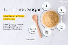 turbinado sugar nutrition facts