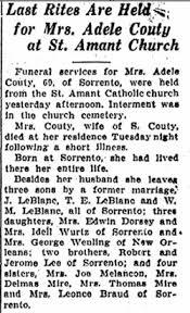Marie Adele Lee LeBlanc (1876-1931) - Find A Grave Memorial