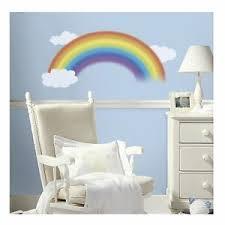 Roommates Over The Rainbow Kids Room Baby Nursery Peel Stick Wall Decal Ebay