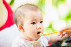 Thực đơn ăn dặm cho trẻ 6-12 tháng các bữa sáng trưa chiều và bữa ...