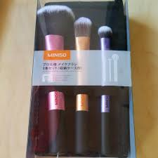 miniso makeup brushes health beauty