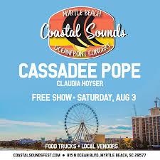 coastal sounds oceanfront concert in