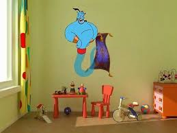 Aladdin Genie Carpet Jasmine 3d Window Decal Wall Sticker Home Decor Art Mural 2