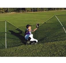 150 Flexible Safe T Fence Portable Fence Package With Ground Sleeves A15 886 Anthem Sports In 2020 Portable Fence Wiffle Ball Wiffle