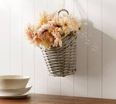 aubrey woven hanging storage basket