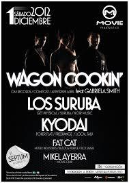 RA: Wagon Cookin´feat. Gabriela Smith, LOS Suruba, Kyodai at Movie Music  Club, North (2012)