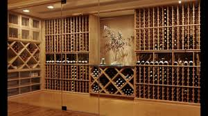 wine cellar wood racks you