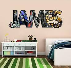 Transformers Personalized Name Decal Wall Sticker Optimus Prime Bumblebee J241 Ebay