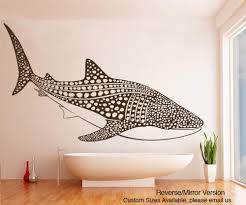 This Whale Wall Decal Is Perfect For Anyone Who Loves Creatures Of The Sea Order Vinyl Whale Wall Sti Whale Wall Decals Vinyl Wall Decals Ocean Themed Bedroom