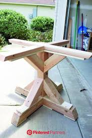 square pedestal table diy table