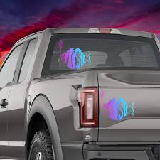Amazon Com Celycasy Phish Holographic Car Decal Glitter Vinyl Edm Mac Laptop Bumper Sticker Phone Window Home Improvement