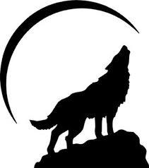 Wolf Howling Half Moon Wall Car Truck Window Laptop Vinyl Sticker Decal 2 99 Picclick