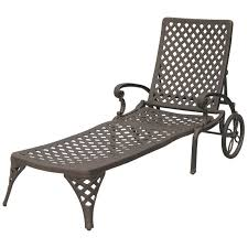 darlee nassau patio chaise lounge in