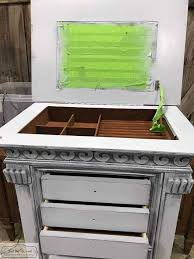 how to paint a mirror frame the easy