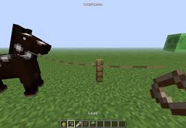 How To Tie A Horse To Fences Minecraft Youtube