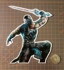 Mortal Kombat Sub Zero Sticker Ebay