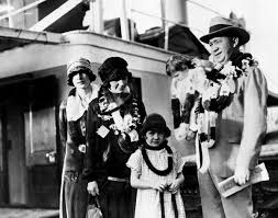 Knute Rockne With Family Poster by Retro Images Archive