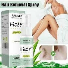 pansly hair removal cream spray body