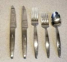 stainless flatware thelma pattern