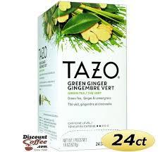 tazo green ginger tea 24 filterbags