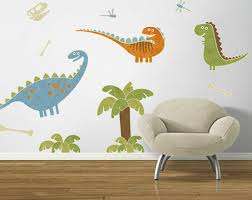 4 Walls Dino Might Accent Wall Decal Wayfair