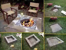 do it yourself diy fire pit idea