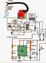 electric fence circuit pcb design