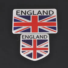 England Flag Car Stickers United Kindom Emblem Uk Badge Auto Decal For Bmw Audi Ford Land Rover Mini Cooper Jaguar Car Styling Car Stickers Aliexpress
