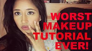 worst makeup tutorial you saubhaya makeup