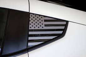 American Flag Quarter Window Decal 2009 2018 Nissan 370z Premium Auto Styling