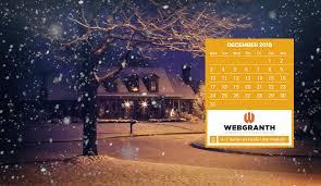 hd december 2018 calendar wallpaper