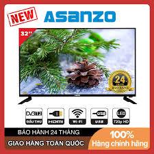 Smart Voice Tivi Asanzo 32 inch HD 32SL500 Android 8.0, Điều khiển giọng  nói, Tràn viền, DVB-T2, Wifi Tivi Giá Rẻ