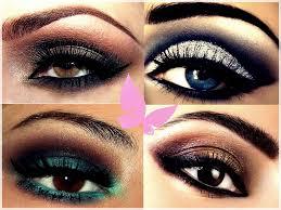 applying eye makeup step by step video