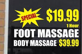 Massage Decals Stickers Decalboy