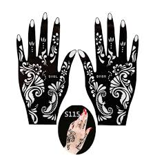 Henna Indyjska Reka Tatuaze Na Cialo Szablony Na Reke Nogi Ramie