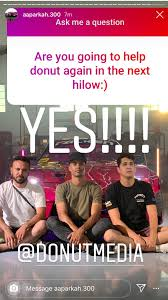 New season of hilow confirmed and it'll have Aaron Parker again :)))))) -  DonutMedia