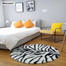 Tiger Leopard Zebra Stripes Round Carpet Bedroom Rug Kids Animal Skin Printed Carpet Window Living Room Sofa Mat 75 110cm2 3feet Mat Mat Kids Round Rugsanimal Skin Carpet Aliexpress