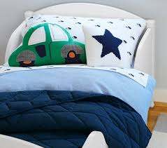 Logan Car Shaped Decorative Nursery Throw Pillow Pottery Barn Kids