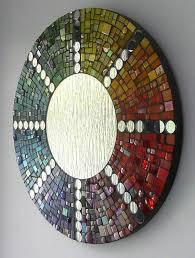 mosaic mirror decorating ideas art