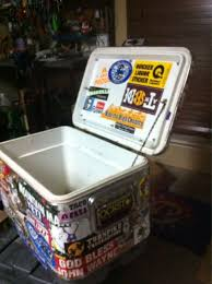 Who Else Has Their Cooler Covered In Stickers Post Em Up Texasbowhunter Com Community Discussion Forums
