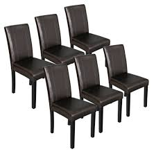 dining parson chairs with solid wood
