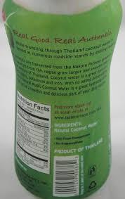 taste nirvana real coconut water all