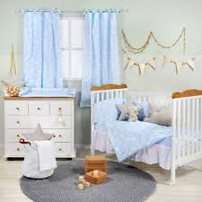 blue cloud baby bedding collection crib