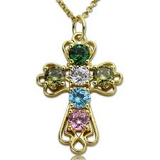 birthstones gold plated silver
