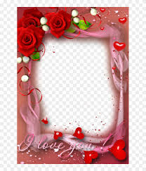 valentines day heart frame png free
