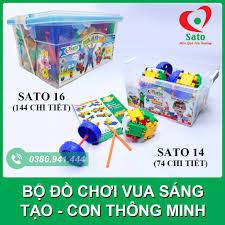 Đồ chơi trẻ em / Bộ đồ chơi vua sáng tạo / con thông minh SATO