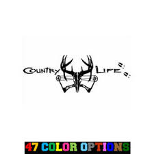 Oracal Vinyl Decal Truck Car Sticker Laptop Hunting Fishing Bow Hunter Country Life