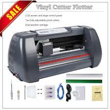 14 Vinyl Cutter Plotter Sign Cutting Machine W Software Supplies Lcd Screen Walmart Com Walmart Com